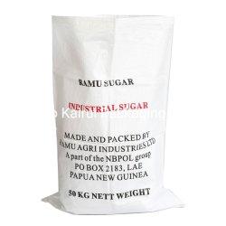 砂糖のプラスチック白い編まれたPP 50kg袋