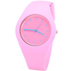 Mode décontracté classique Silicone Watch Don Watch montre de sport étanche de calage montre à quartz