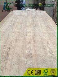 Carvalho de madeira/folheado de madeira teca mobiliário de madeira contraplacada/placa MDF