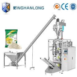 /Coffee-Nahrungsmittelpuder-Vakuum des automatische Gewürz-Puder/Milch/Kakao-/Weizen-Mehl/des Waschpulvers/Reises, das vertikale Verpackungs-Verpackmaschine-Maschinerie füllt