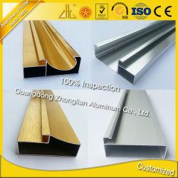 Armoires de cuisine d'alimentation de l'usine Profil en aluminium pour Furiture