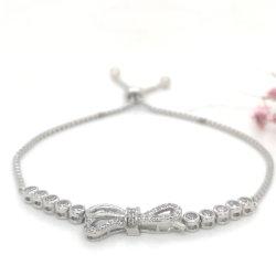 925 Silver Bracelet réglable K or Bijoux de mode