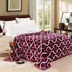 Кровать одеяло типа Double-Side Загустеет эластичной спальный одеяло