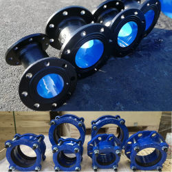 Kupplung-Rohr-duktile Roheisen-Rohre und Befestigungen der Soem-Hersteller-ISO2531 K9 durch China-Fabrik