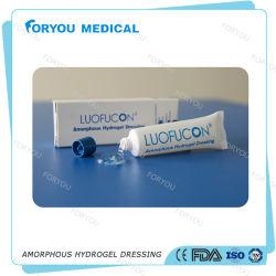Foryou verwunden medizinisches China Lieferanten-Hydrogel-Wasser-Gel die heilenden formlosen Brandwunde-Kleid-Erste HILFEen-Wundhydrogele klar