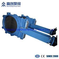 연성 주철 또는 주철 Gg40 및 Gg50 산업용 칼 스템 상승용 게이트 밸브