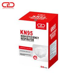 Usine Direct petite commande acceptée tissu non tissés jetables Contour KN95 masque réutilisables pour l'auto Utilisez