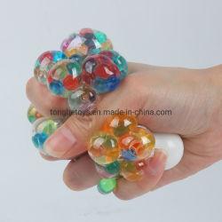 С другой стороны сетки Squish Slimeantistress против Rainbow игрушка со сдавливаемой трубой и винограда декомпрессию давления шлама подчеркнуть Squishy шарик ячеистой сети по оказанию чрезвычайной помощи