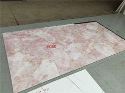 陶磁器の平板のローズ水晶大きいサイズの磁器のタイル
