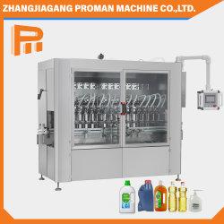 Pistón líquido viscoso automático de la estación de carga completa de máquinas de embalaje de embotellado de detergente para la desinfección de la mano /la pasta de tomate/Alcohol Gel/Aceites comestibles