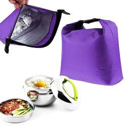 Переносной тепловой изоляцией ланч-бокс выполните женская сумка охладителя пикник