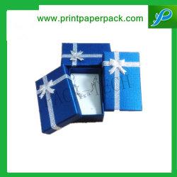 Bespoke Deluxe cheios de algodão Caixa de oferta de caixas de papel Premium