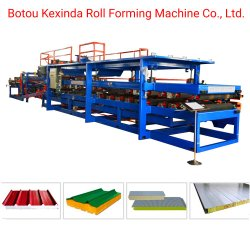 Máquina de fabricación de paneles sándwich China