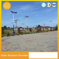 Haute puissance solaire 60W 80W éclairage de rue le type de fond