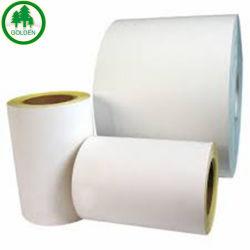 Semi brilhante papel autocolante