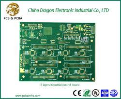 8 couches de carte de contrôle industriel carte PCB multicouche