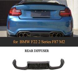 Kohlenstoff-Faser-Auto-hinterer Anschlagpuffer-Kabel-Diffuser- (Zerstäuber)lippe für niedriges Kupeen 2016-2017 BMW-F87 M2