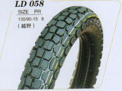 La norme ISO9001 : 2008 pneus pour motos de haute qualité et le tube (130/90-15)