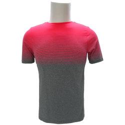 100% il filato tinto poliestere 170GSM asciuga la maglietta funzionale adatta