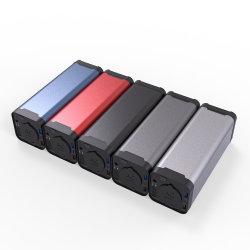 Custom металлические алюминиевая банка питания зарядного устройства Корпус случае