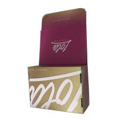 ورق طباعة كامل مخصص أسود صندوق البطاقات للرجال صندوق
