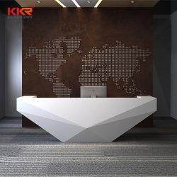 Witte aangepaste counter tafel vast oppervlak verpleegstation Clinic Hospital Receptie van het kantoor voor gezondheidszorg