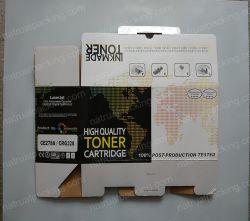 Cadre de papier des prix de métier bon marché de Brown, caisse d'emballage de papier de métier, papier ondulé d'e cannelure