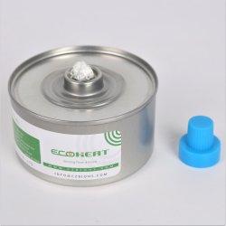 Le fer blanc en conserve de carburant liquide de mèche de frottement plat