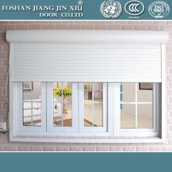 304 de l'acier du rouleau de porte de garage de l'obturateur d'aluminium Fenêtre mobile