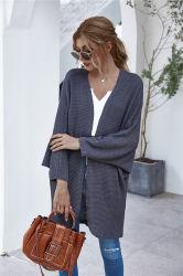 2020 Alta Qualidade Senhoras Casual Longo tricotado soltas Cardigan jaqueta de OEM