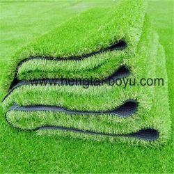 De PE/PP 8000decitex Fibrillated/sintéticas de poliésteres de relva artificial para piscina campo de futebol