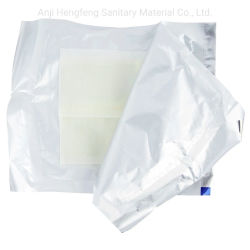 Assistência médica a parafina estéril gaze curativos curativo de queimaduras