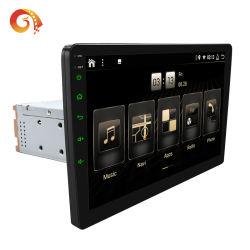 Px6 estéreo para automóvel com RDS AM Aluguer de navegação por GPS Bluetooth da saída HDMI WiFi 10 Polegadas+644 GB 1DIN Android Market 10.2.5D IPS Tela Sensível ao Toque