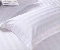 Het Katoen van 100% 3cm Schandes van het Hoofdkussen van het Hotel van de Streep