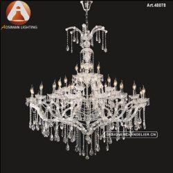 Старинные люстры роскошными хрустальными люстрами освещение для гостиной для украшения