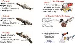 Air Belt Sander Pneumatic Belt Polisher Polishing Machine Air Belt Sanding Tools with Abrasive Belt Pneumatic Carton Stripping Machine Waste Stripper
