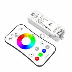 Cc12V/24V resistente al agua de la luz de tira de LED RGB LED RGB 5050 tira de luces de rollo de 5m Controlador Inteligente