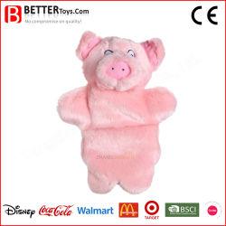 교육 연약한 인형 견면 벨벳 장난감이 중국 돼지 꼭두각시 아기에 의하여 아이 농담을 한다