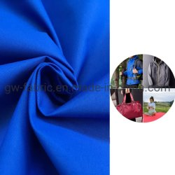 Tecido de nylon 196t Taslon respirável e revestimento Moisture-Permeable White + Piscina Impermeável Estojo desportivo