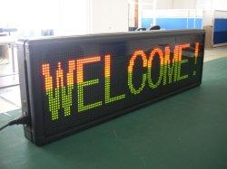 Programmable Dual-Color Indoor LED DOT Matrix déplaçant signe (P7.62)