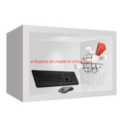 E-Fluence HD LCD 접촉 광고를 위한 투명한 스크린 전시