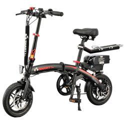 12дюймов новый дизайн Mini с подвесным двигателем с электроприводом складывания Sepeda Listrik 48V250W E-велосипед электрический велосипед Shimano с одной скоростью передачи Prowheel сплава проворачивается с сиденья Comfort