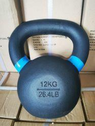 Ferro fundido Kettlebell 12.00quilogramas de peso Personalizado