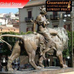 Famosa estátua de bronze Teatro Massimo Escultura (GSBR-104)