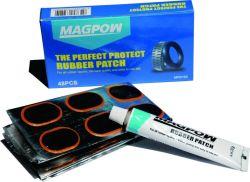 Koud rubber met patch voor reparatie van wielbanden