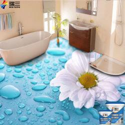 エポキシの明確なエポキシ樹脂3D絵画に床を張る卸し売り液体3D