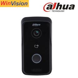 Telefoon van de Deur WiFi van Dahua Doorphone vto2111d-Wp van de Post van de Villa van de Visie van de nacht HD de Openlucht Draadloze Video