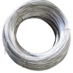 Alimentación directa de fábrica de Alambre Galvanizado Alambre vinculante Gi Electro hierro galvanizado alambre plano