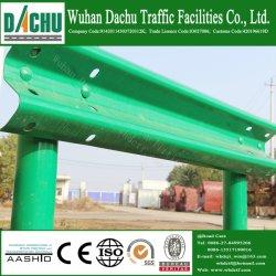 La seguridad del tráfico en spray de plástico de viga de acero a la autopista barandillas