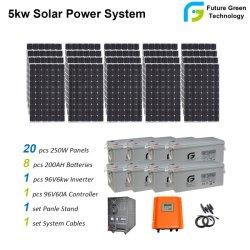 5 Квт 10квт Дома Источник Питания Системы Солнечной Энергии